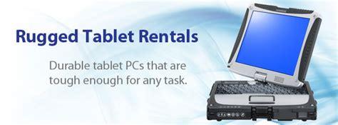 rugged rentals rugged tablet rentals