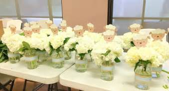 floral centerpieces for baby shower best 25 baby showers ideas on table