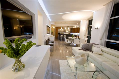 The Living Room Miami Fl Dkor Interiors Interior Design At The Marine Yacht