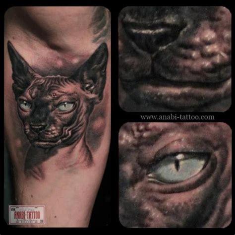 tattoo cat realistic realistic cat tattoo by anabi tattoo