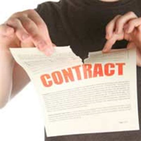 Letter Of Non Repudiation Agreement Breach Of Contract