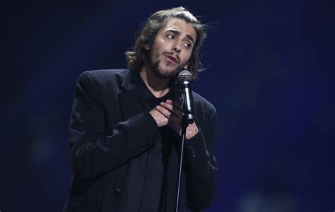 eurovision 2017 winner salvador sobral in intensive care