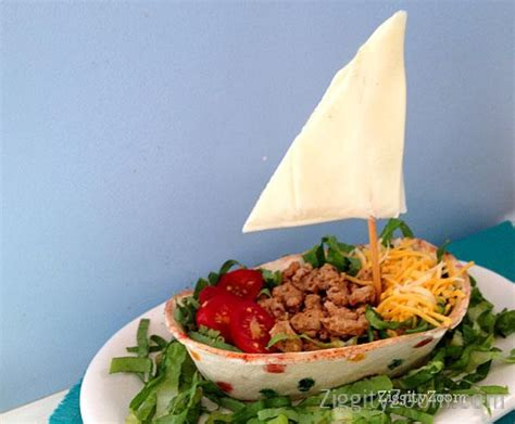 cucumber taco boats sailboat foods for columbus day b lovely events