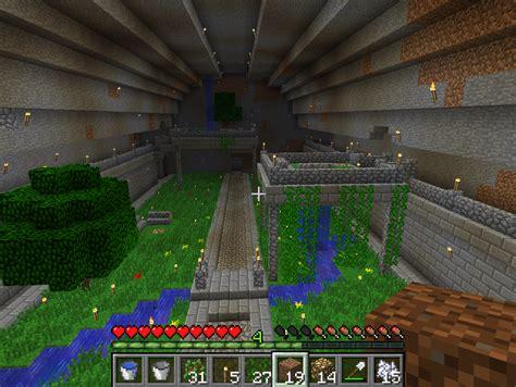 underground garden マイクラねた gardens