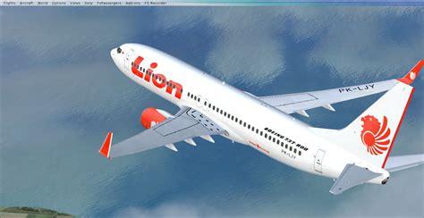 lion air lion air boeing 737 800ng for fsx