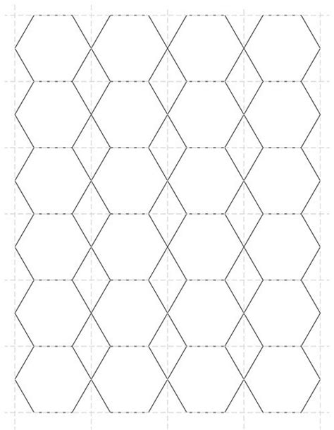 free paper piecing hexagon templates items similar to 1 inch hexagon paper piecing template