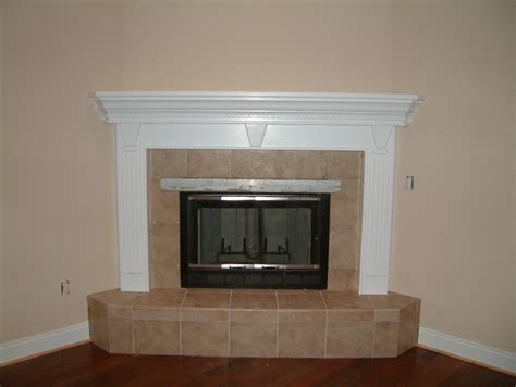 Fireplace Front Ideas by Corner Fireplace Mantel Designs