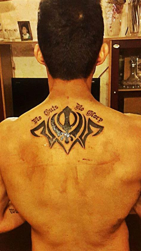 sikh khanda tattoo designs images designs