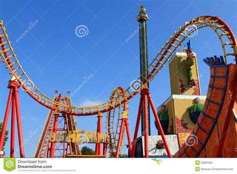 theme park vienna wiener prater amusement park vienna austria editorial