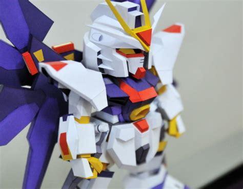 Sd Gundam Papercraft - sd zgmf x20a strike freedom gundam papercraft by seraphwang