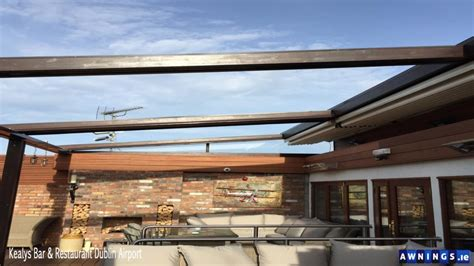 awnings ie retractable all year round roof awnings from awnings ie