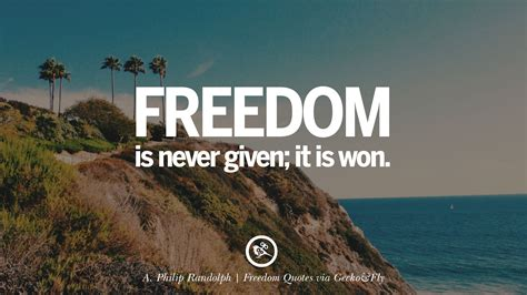 Freedom Is 30 inspiring quotes about freedom and liberty