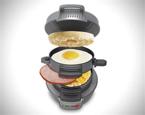 Egg Muffin Toaster 5 Minute Breakfast Sandwich Maker By Hamilton Beach