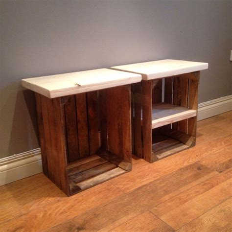crate side table 17 best ideas about crate side table on rustic