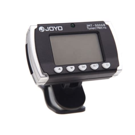 Istimewa Clip On Guitar Tuner Joyo joyo jmt 9006b clip on backlit metronome tuner for electronic acoustic guitar chromatic bass