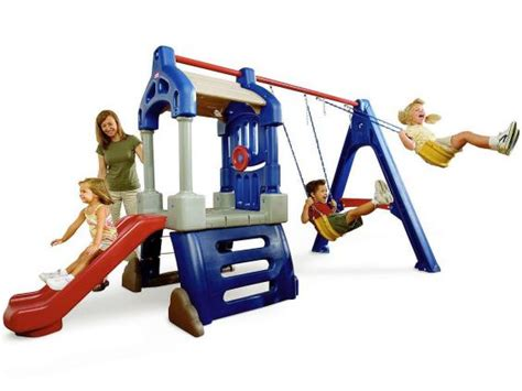 tikes swing set 9 best children s swing sets the independent