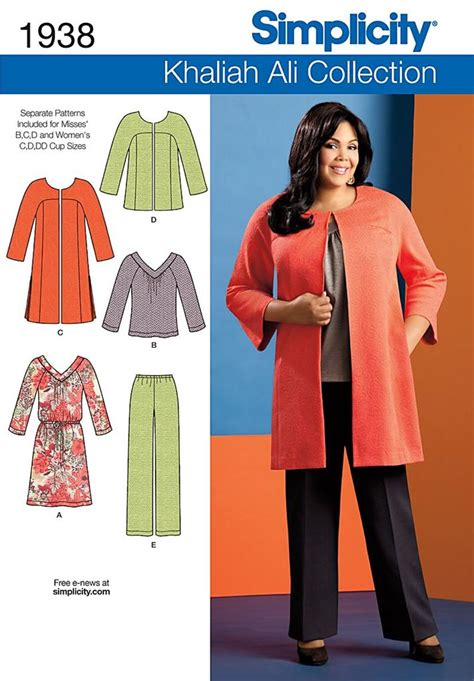 sewing patterns uk plus size new simplicity plus size sewing patterns womens size 20w