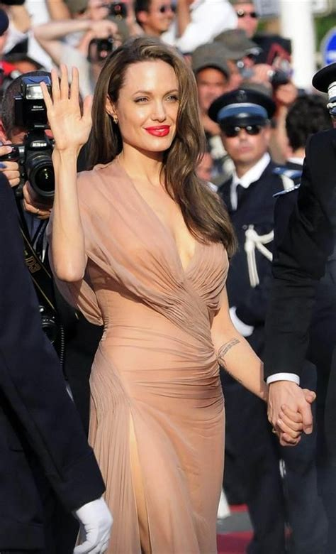 Get The Look Jolies Cannes Chic get the look s hair and makeup at cannes