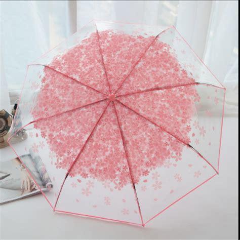 payung lipat transparan payung jepang korea payung bening