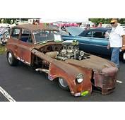 Barn Find Funny Car 1949 Triumph Mayflower