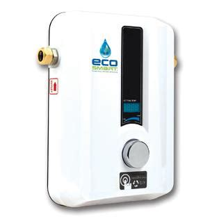 Water Heater Sharp ecosmart tankless water heater whole house eco 11 sears