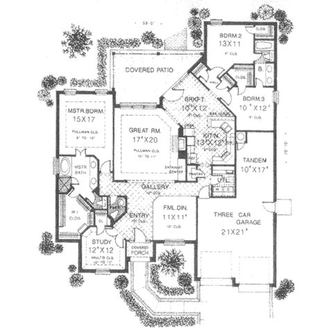 2400 sq ft house plan european style house plan 4 beds 2 5 baths 2400 sq ft