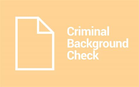 Criminal Background Check Washington Us Criminal History Information Check Records Ridgecrest Ca