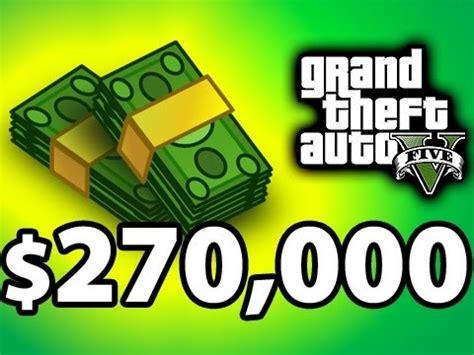 Quickest Way To Make Money Gta Online - gta 5 online 25 000 dollars in 6 minutes fast mone doovi