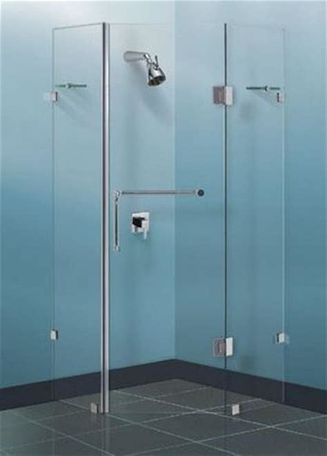 Frameless Shower Screen Diamond Sizes: 900/ 1000/ 1100