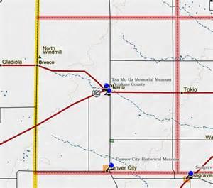 yoakum county map images