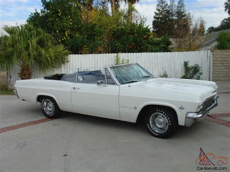 65 impala convertible for sale 1965 chevy impala ss convertible for sale car interior
