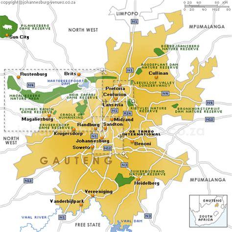 africa map johannesburg johannesburg map