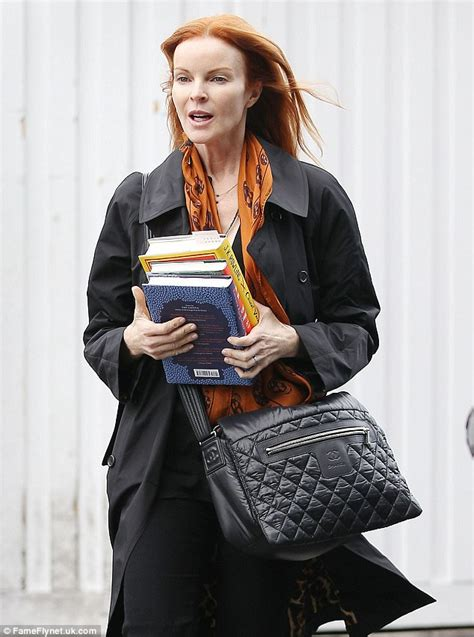 Marcia Cross Fights To Keep Photos From Being Published by Amazingly Wrinkle Free Marcia Cross Steps Out With Not A