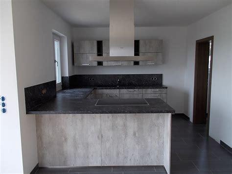 u küche k 252 che kitchen beton