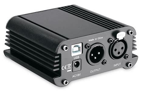 alimentatore phantom pronomic pp 10 alimentatore phantom con interfaccia audio