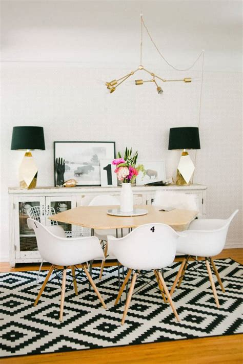 how to pick a rug for your dining room how to pick a rug for your dining room