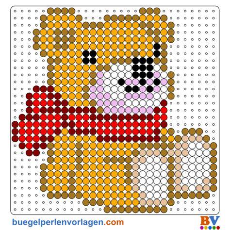 hama bead template printable perler bead pattern teddy hama patterns 1