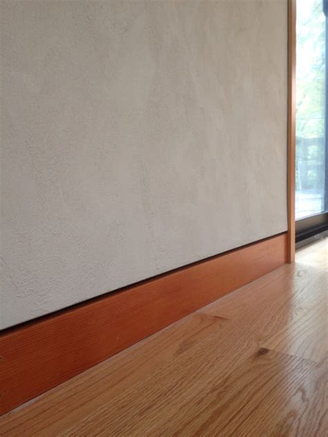 flush baseboard plaster with flush baseboard contemporary other by