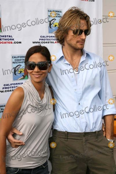 A Day At The And Paddle Out Protest by Photos And Pictures Halle Berry And Gabriel Aubry At Quot A