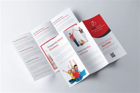 tri fold real estate brochure brochure templates on