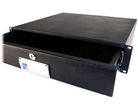 2u rack mount drawer server studio gear sliding shelf