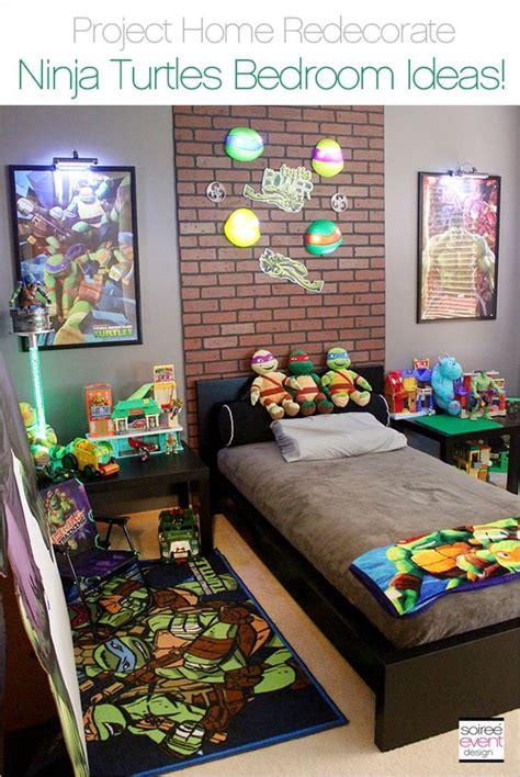 turtle bedroom decor project home redecorate ninja turtles bedroom ideas