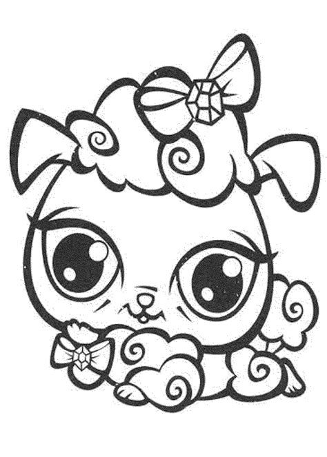free coloring pages of shop drawing littlest pet shop coloring pages printable coloring home