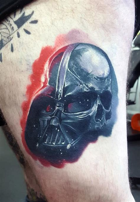 vader tattoo healed darth vader by alan aldred tattoonow