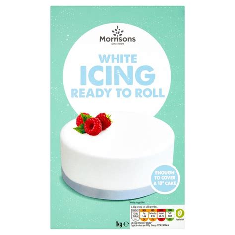 Roll Out Cing Mattress by Morrisons Morrisons Ready To Roll Icing 1kg Product