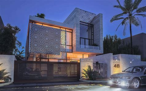modern architecture style a set of extraordinary villas with a modern architecture