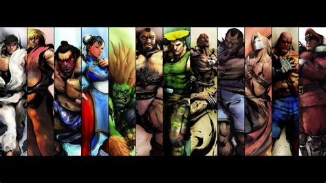 from street fighter main character name the gallery for gt street fighter characters names and