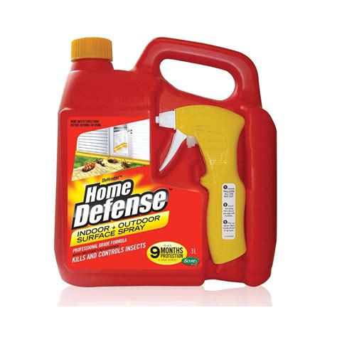 defender 3l home defense barrier spray bunnings warehouse