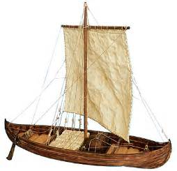 viking knarr wood model boat kit by dusek