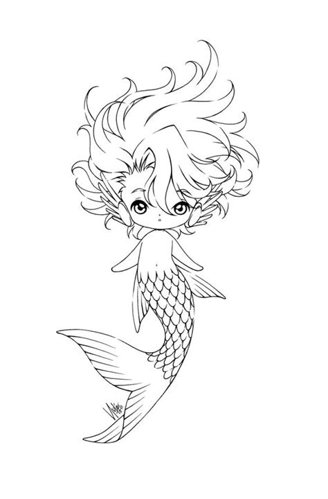 cute mermaid coloring page colouring pages fantasy